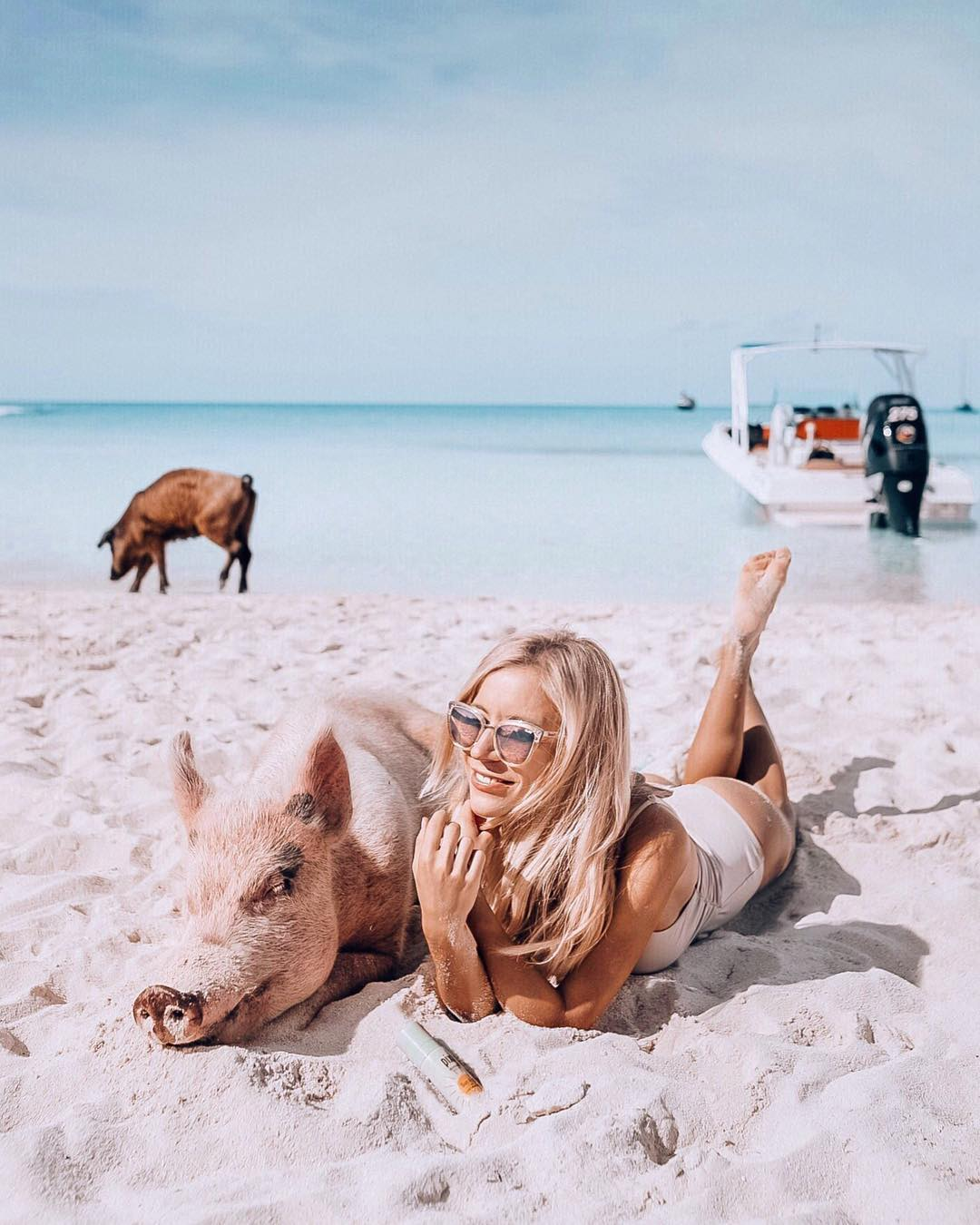 Instagram Star & Travel Blogger Aggie shares her Bucket List Exuma Day Trip!